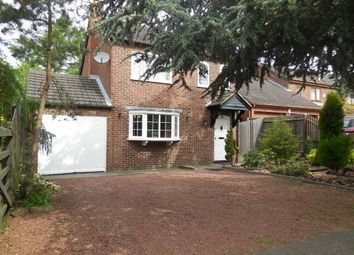 Thumbnail 4 bed detached house for sale in Underwood Drive, Stoney Stanton, Leicester