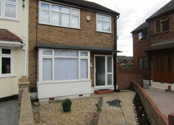 Thumbnail 3 bed end terrace house for sale in Newtons Close, Rainham