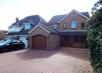 Thumbnail 4 bed detached house for sale in Fair Lady Drive, Burntwood