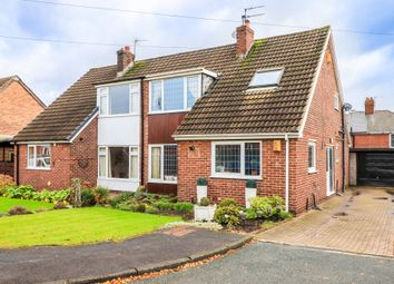 Thumbnail 3 bed semi-detached house for sale in The Paddock, Normanton