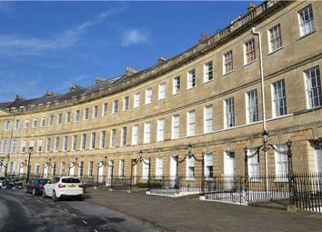 Thumbnail 3 bed flat for sale in Lansdown Crescent, Bath