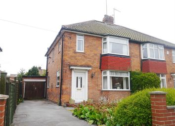 Thumbnail 3 bed semi-detached house for sale in Chelwood Walk, York