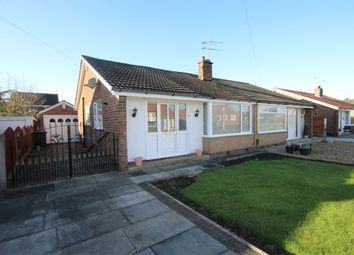 Thumbnail 2 bed semi-detached bungalow for sale in Dell Drive, Fearnhead, Warrington