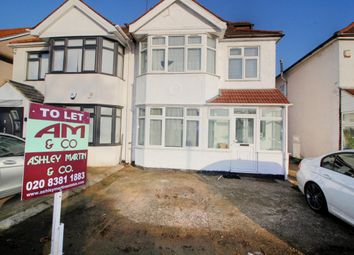 Thumbnail 5 bed semi-detached house to rent in Kenton Road, Kenton
