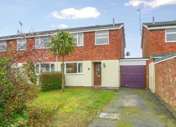 Thumbnail 3 bedroom semi-detached house for sale in Bury Hill Close, Woodbridge