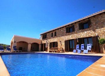 Thumbnail 3 bed villa for sale in Moraira, Alicante, Costa Blanca. Spain