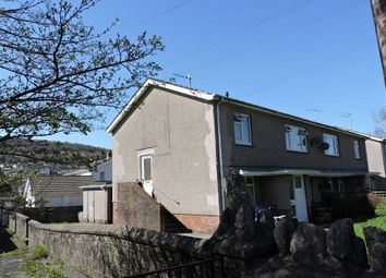 Thumbnail 2 bed flat for sale in Glanyrafon Road, Ystalyfera, Swansea