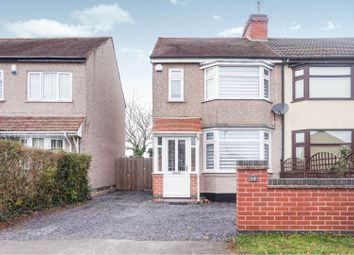 Thumbnail 2 bed semi-detached house for sale in Woodlands Road, Coventry