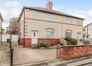Thumbnail 3 bed semi-detached house for sale in Eightlands Avenue, Leeds, West Yorkshire