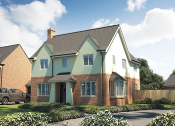 "Thumbnail 4 bedroom detached house for sale in ""The Osterley"" at Roman Road, Bobblestock, Hereford"