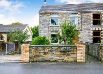 Thumbnail 2 bed cottage for sale in Station Road, Llanmorlais, Swansea