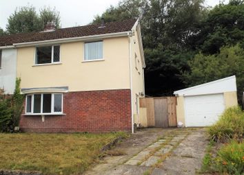 Thumbnail 3 bedroom semi-detached house for sale in Bishwell Road, Gowerton, Swansea