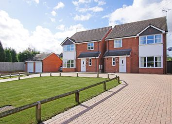 Thumbnail 4 bed detached house for sale in Redditch Road, Hopwood, Alvechurch