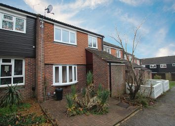 Thumbnail 3 bed terraced house for sale in Yewlands Walk, Ifield, Crawley, West Sussex.