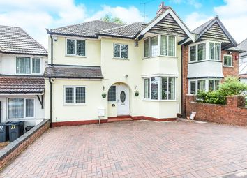 Thumbnail 5 bed semi-detached house for sale in Tixall Road, Hall Green, Birmingham