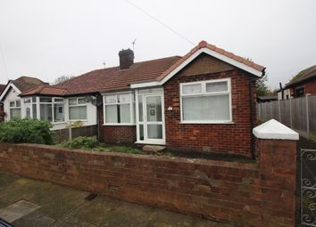 Thumbnail 2 bed semi-detached bungalow for sale in Kendal Avenue, Highfurlong, Blackpool