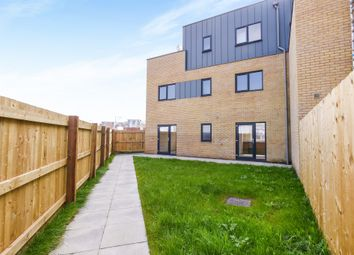 Thumbnail 3 bedroom end terrace house for sale in Watkiss Way, Cardiff Bay, Cardiff