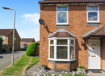 Thumbnail 3 bed semi-detached house for sale in Warner Close, Whetstone, Leicester