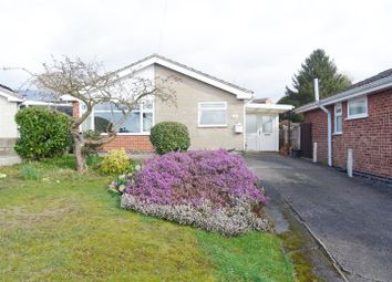 Thumbnail 2 bed detached bungalow for sale in Holcombe Close, Whitwick, Coalville