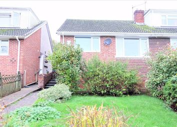 Thumbnail 2 bed semi-detached bungalow for sale in Merioneth Place, Barry, Vale Of Glamorgan