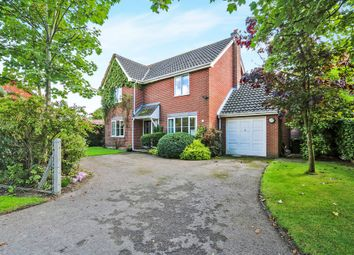 Thumbnail 4 bed detached house for sale in Long Street, Great Ellingham, Attleborough