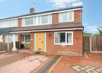 Thumbnail 5 bed semi-detached house for sale in Haddon Road, Heald Green, Cheadle