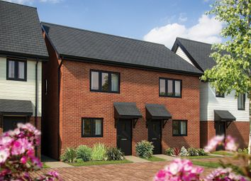 "Thumbnail 2 bedroom semi-detached house for sale in ""The Hawthorn"" at London Road, Norman Cross, Peterborough"