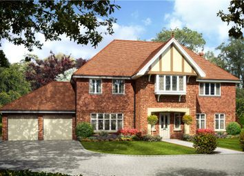 Thumbnail 5 bedroom detached house for sale in Eastwood Place, Eversley, Hook, Hampshire