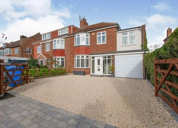 Thumbnail 4 bed semi-detached house for sale in Cheviot View, Ponteland, Northumberland