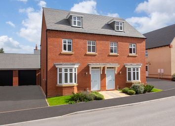 """Thumbnail 3 bed semi-detached house for sale in """"Kennett"""" at Crick Road, Hillmorton, Rugby"""
