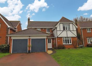 Thumbnail 4 bed detached house for sale in Cotman Drive, Bradwell, Great Yarmouth