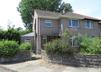 Thumbnail 3 bed semi-detached house for sale in Protheroe Avenue, Pen-Y-Fai, Bridgend