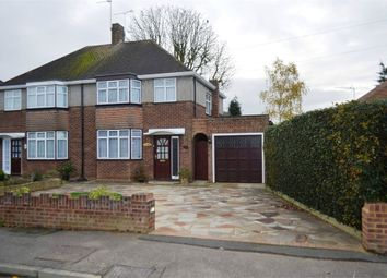 Thumbnail 3 bed semi-detached house for sale in Glenfield Road, Ashford, Surrey