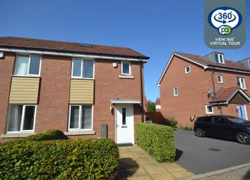 Thumbnail 3 bed semi-detached house for sale in Kingfisher Close, Spirit Quarters, Coventry