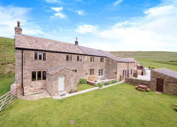 Thumbnail 5 bed farmhouse for sale in Scald Bank Farm, Skipton Old Road, Lothersdale
