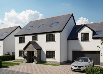 Thumbnail 5 bed detached house for sale in Bridge Road, Old St. Mellons, Cardiff