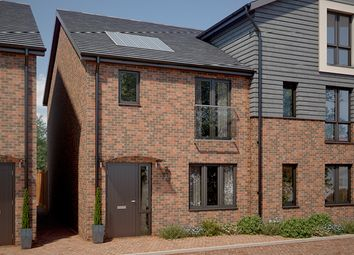 Thumbnail 3 bed terraced house for sale in The Stanford, Godington Way, Ashford, Kent