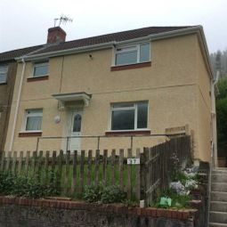 Thumbnail 3 bed property to rent in Heol Y Glyn, Cymmer, Port Talbot