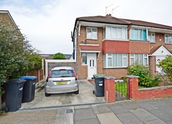 Thumbnail 2 bed semi-detached house to rent in Ivy Road, Southgate, London