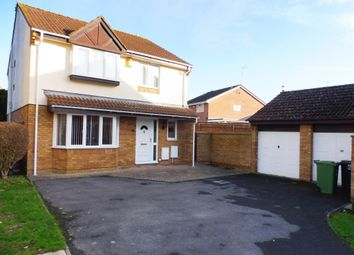 Thumbnail 4 bed detached house for sale in Delamere Drive, Stratton, Swindon