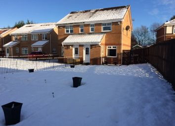 Thumbnail 2 bedroom semi-detached house for sale in Meadow Walk, Coatbridge