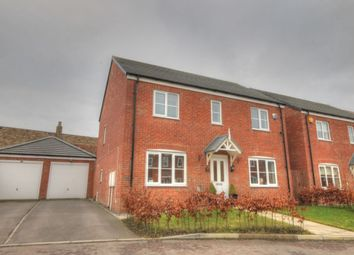 Thumbnail 4 bed detached house for sale in Wheatfield Road, Westerhope, Newcastle Upon Tyne