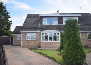 Thumbnail 4 bed semi-detached house for sale in Cotswold Close, Littleover, Derby