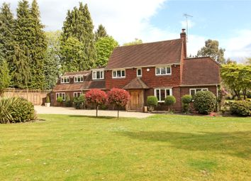 Thumbnail 5 bed detached house for sale in Shrubbs Hill, Chobham, Surrey