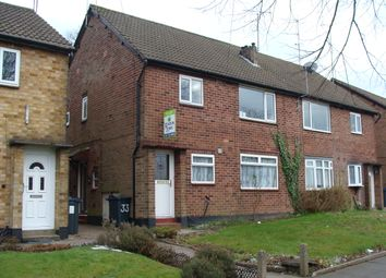 Thumbnail 2 bed maisonette to rent in Leach Green Lane, Rubery, Birmingham
