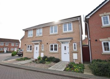 Thumbnail 2 bed semi-detached house for sale in Magnus Court, North Hykeham, Lincoln