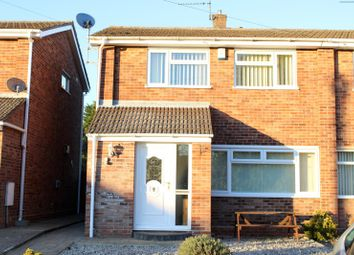 Thumbnail 3 bedroom semi-detached house to rent in Sotterley Road, Lowestoft