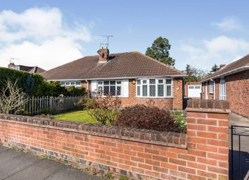 Thumbnail 2 bed semi-detached bungalow for sale in Sharpland, Aylestone, Leicester