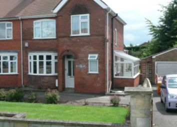 Thumbnail 3 bedroom semi-detached house to rent in Nottingham Road, Ashby De La Zouch, Leicestershire