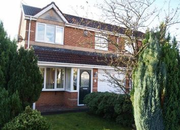 Thumbnail 3 bed semi-detached house for sale in Primrose Close, Annitsford, Cramlington